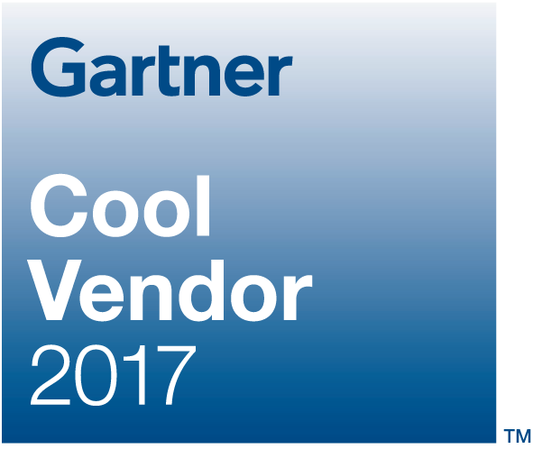 Gartner Cool Vendor 2017 logo